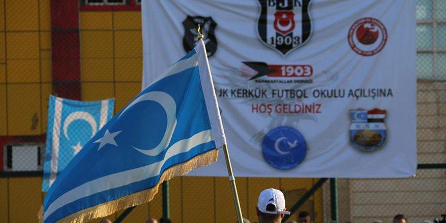 Kerkük'te Beşiktaş Futbol Okulu açıldı
