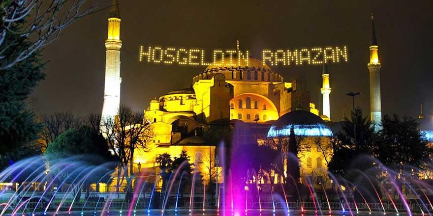 Osmanlı geleneği mahyalar ramazana hazırlanıyor