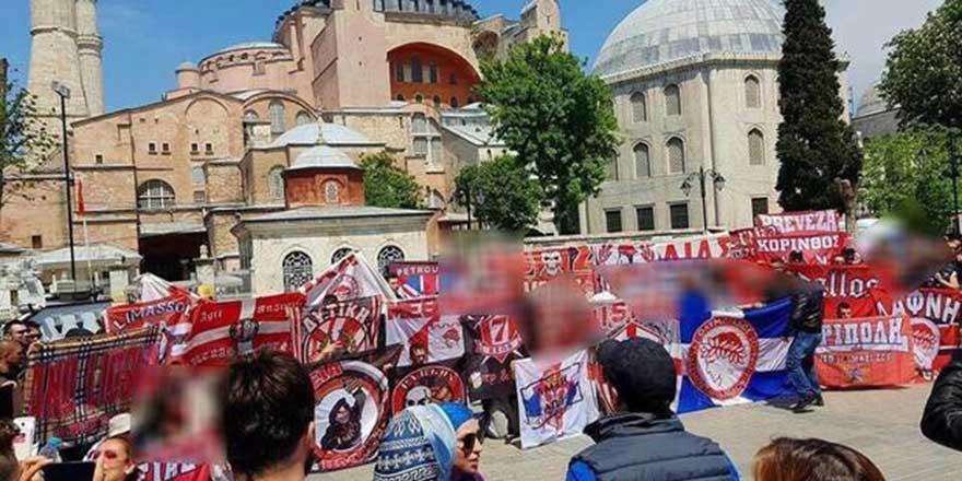 Fenerbahçe ve Olympiakos arasındaki ikinci Ayasofya atışması