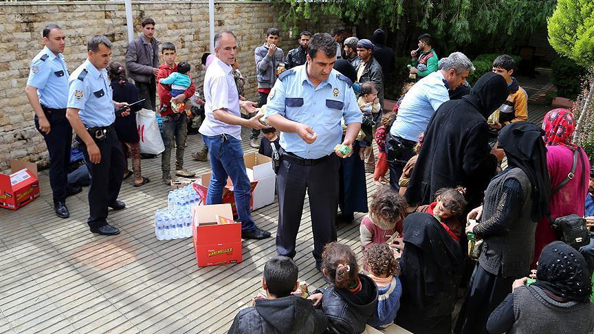 Bir haftada 436 düzensiz göçmen yakalandı
