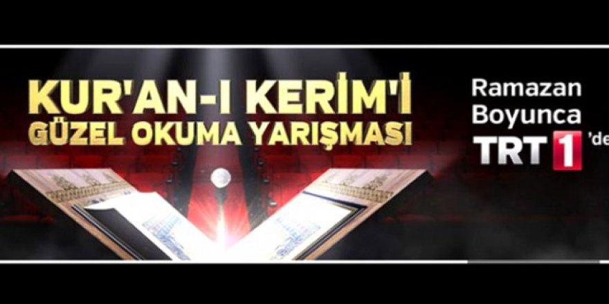 Kur'an-ı Kerim'i Güzel Okuma Yarışması TRT'de başlıyor