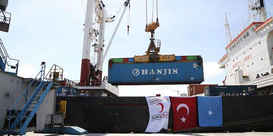 Türk Kızılayı Afrika'ya 3 gemi yardım malzemesi gönderecek