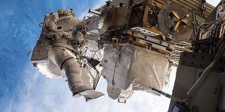 Amerikalı astronotlar Uluslararası Uzay İstasyonunda tamire başladı