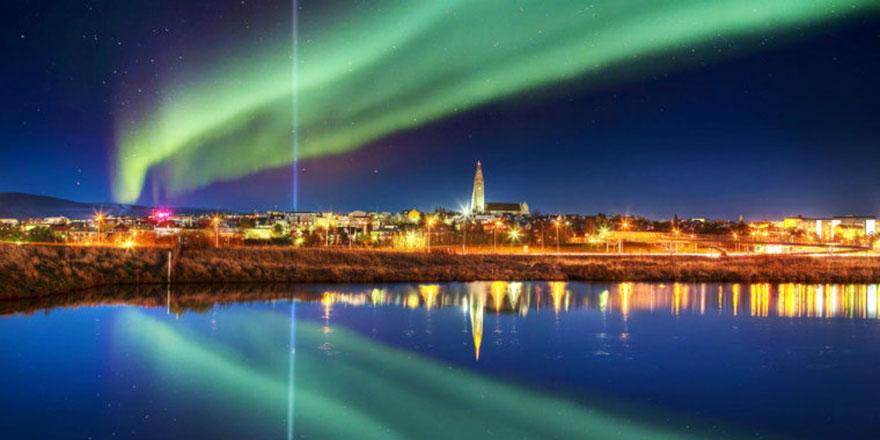 İzlanda'da eriyen buzul için tören düzenlendi