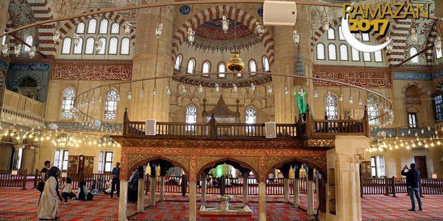 Mimar Sinan'ın ustalık eseri Selimiye Camisi ramazana hazır