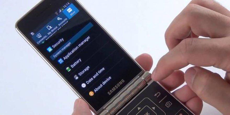 Samsung kapaklı telefon modasını canlandırmak istiyor
