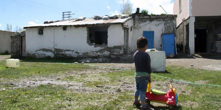 Şehit ailesinin yağmurdan zarar gören evi onarılacak