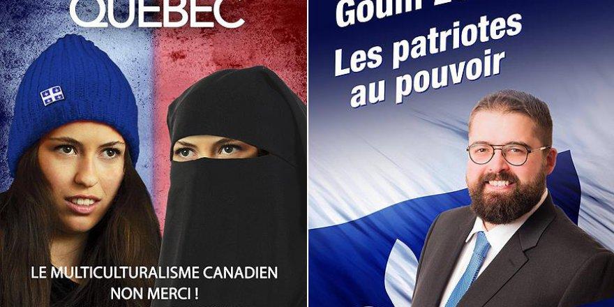 Kanada'da Müslüman karşıtı seçim afişleri