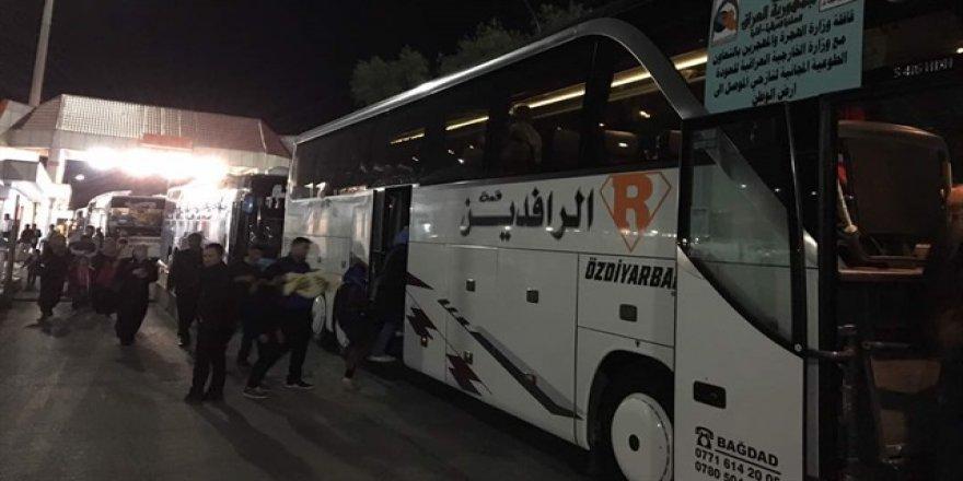 Türkiye'deki 347 Iraklı sığınmacı ülkesine döndü