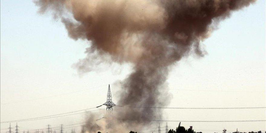 Mısır ordusundan Libya'ya hava saldırısı