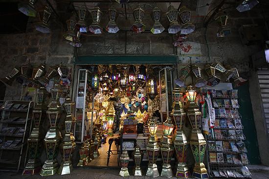 Kudüs, Ramazan için kandillerle süslendi