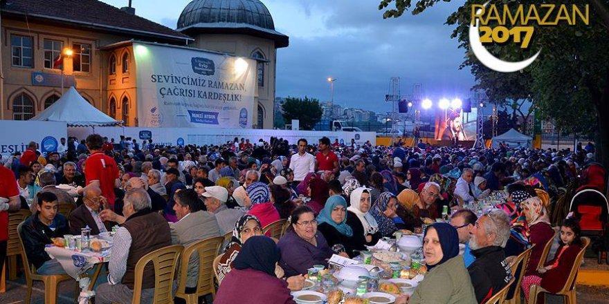Eyüp Sultan'da ilk iftar