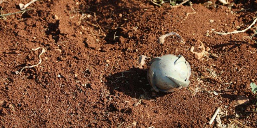 Suriye'de patlamamış bombalar tehlike oluşturuyor