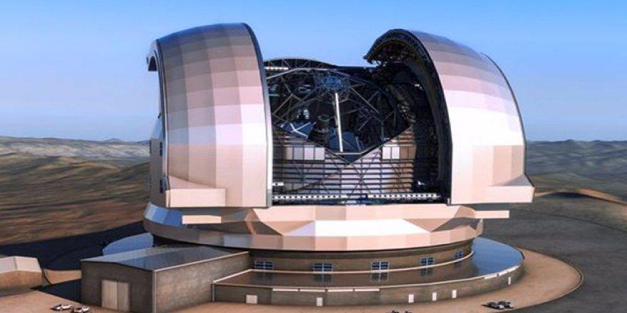 Dünyanın en büyük teleskobunun inşaatında sona doğru