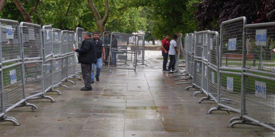Taksim'de güvenlik önlemleri arttırıldı