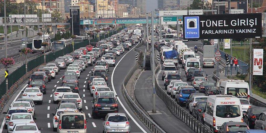 'Dünyada trafiğin en yüksek olduğu 3'üncü şehir İstanbul'