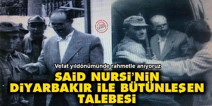 Said Nursi'nin Diyarbakır ile bütünleşen talebesi: Mehmet Kayalar