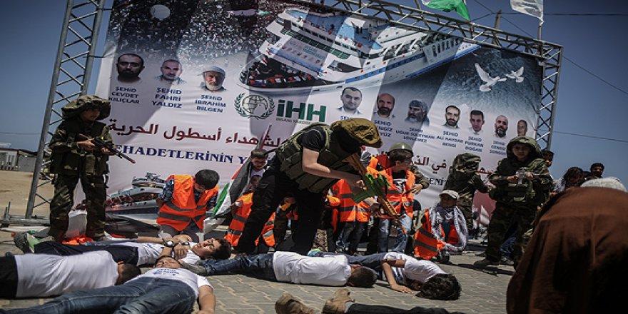 Mavi Marmara saldırısının 7. yılında Gazze'de anma etkinliği