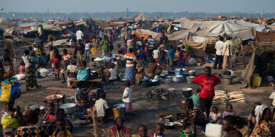 Şiddet olayları 21 bin 500 kişiyi evlerinden etti