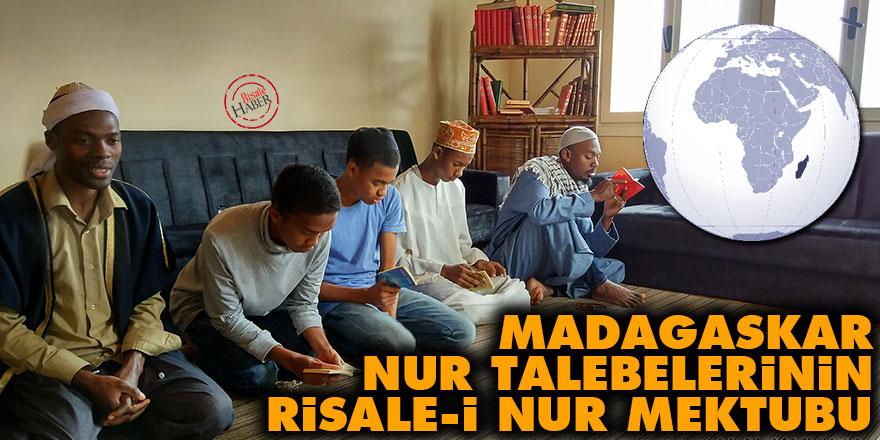 Madagaskar Nur talebelerinin Risale-i Nur mektubu