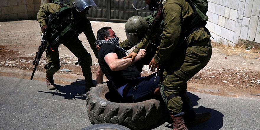 İsrail askerleri ile Filistinliler arasında gerginlik