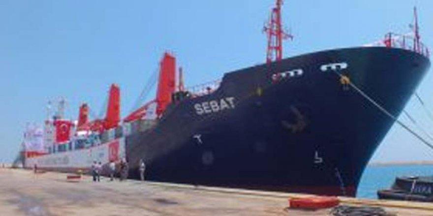 Türk Kızılayı'nın yardım gemisi Somali'ye hareket etti