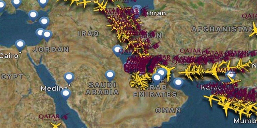 Katar'a hava yasağı bugün başlıyor