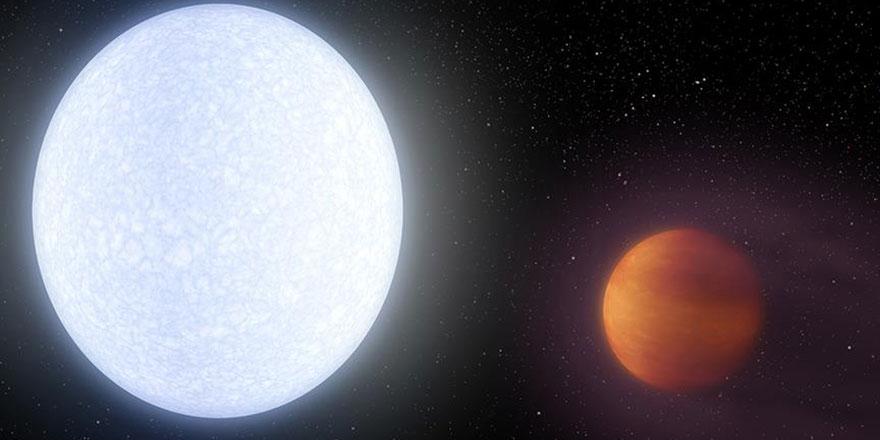 Şimdiye kadar bilinen en sıcak gezegen keşfedildi