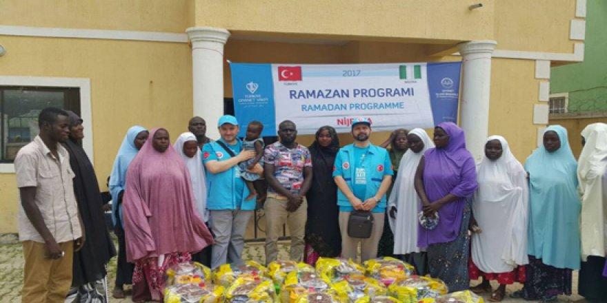 TDV Nijeryalıları Ramazan'da da yalnız bırakmıyor