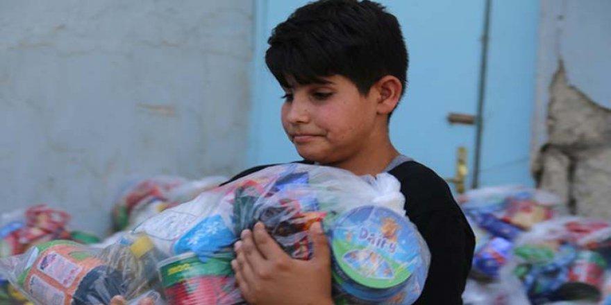İHH'dan Kerkük'teki mülteci ailelere ramazan yardımı