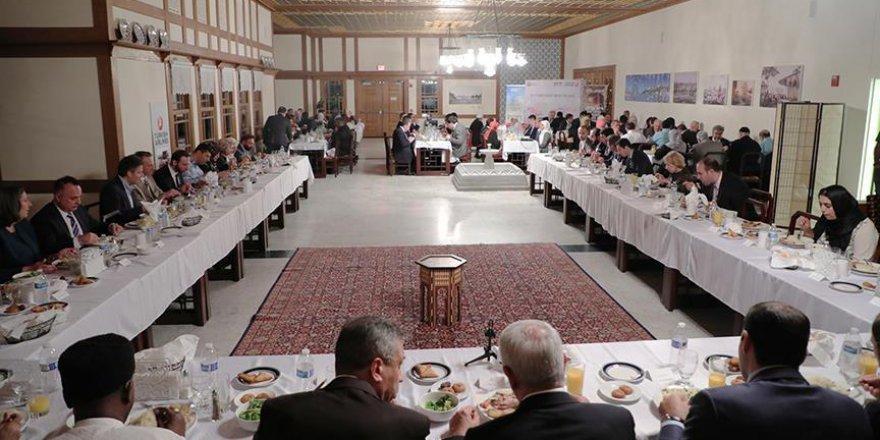 Büyükelçi Kılıç'tan Amerika Diyanet Merkezinde iftar