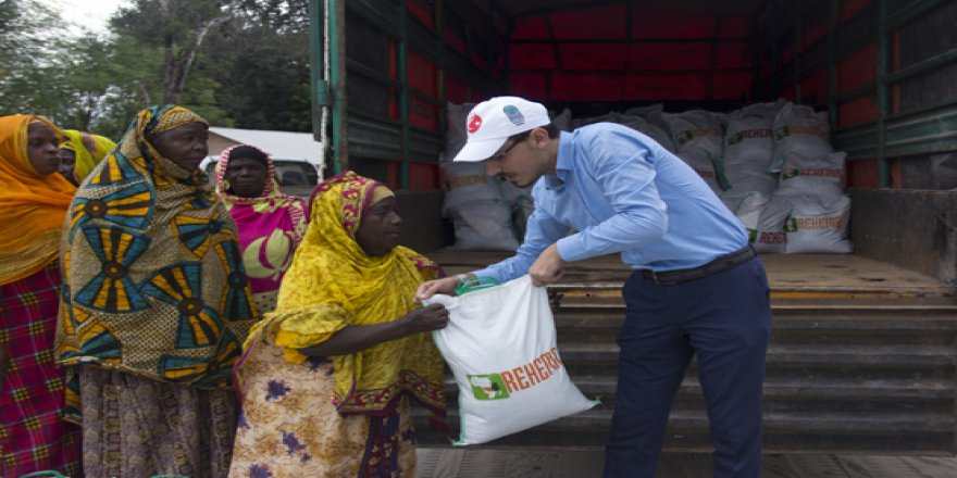 Hüdayi Vakfı Tanzanya halkını ramazanda yalnız bırakmadı
