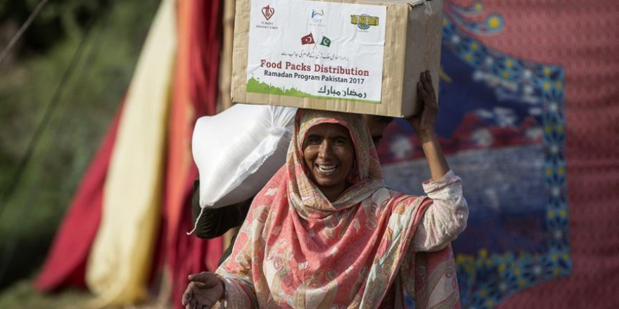 TDV, Multan'da insanların yüzünü güldürdü