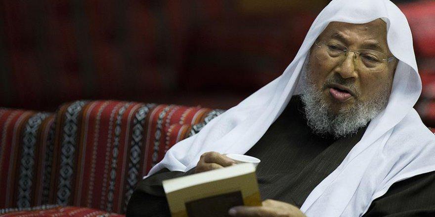 Karadavi'nin 'İslam Fıkıh Konseyi' üyeliği askıya alındı