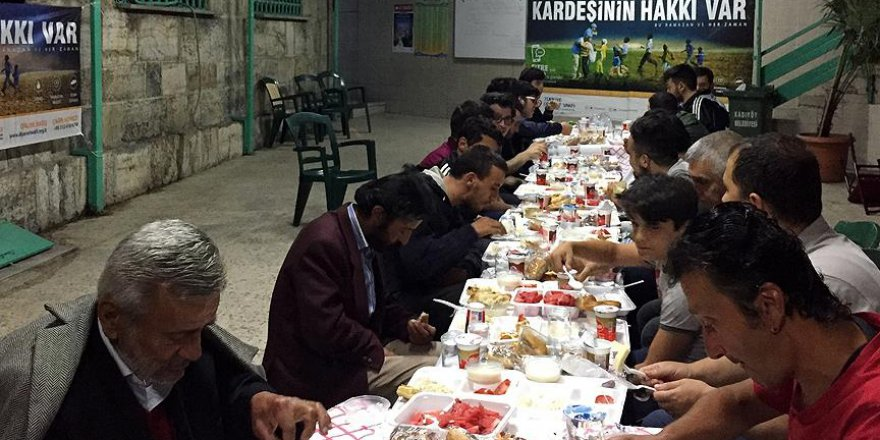 Camide 'Halil İbrahim Sofrası'