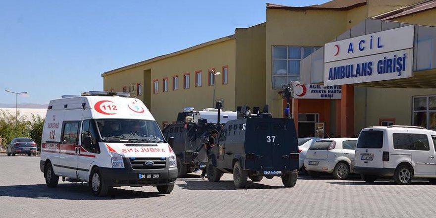 Hakkari'de terör saldırısı: 5 yaralı