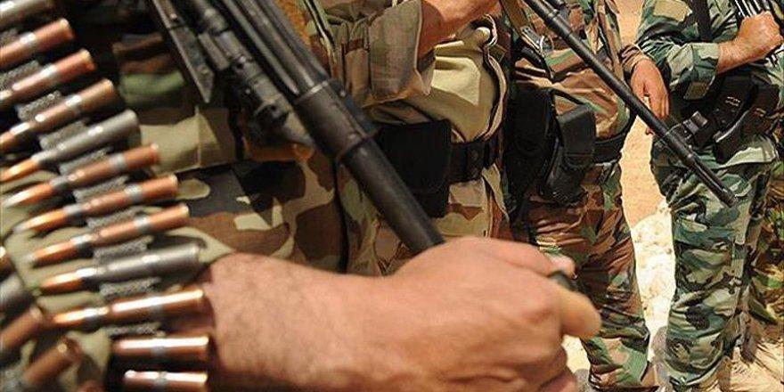 İran milis güçleri Suriye-Irak sınırında
