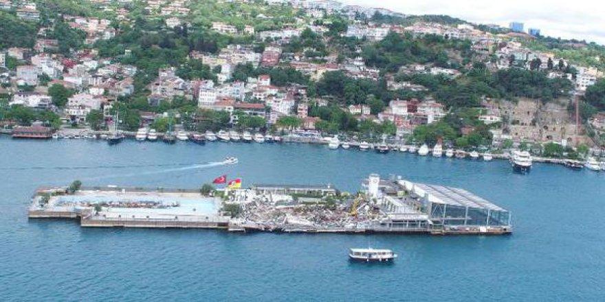 'Galatasaray Adası'na cami yapılsın'