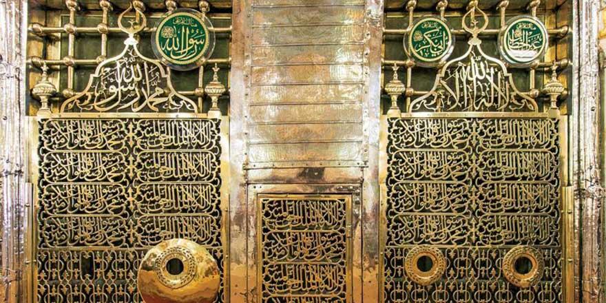 Ravza-i Mutahhara'da Osmanlıdan kalma sır kitabe