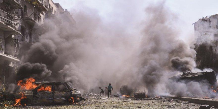 Halep'ten son 24 saatte 3 bine yakın aile kaçtı