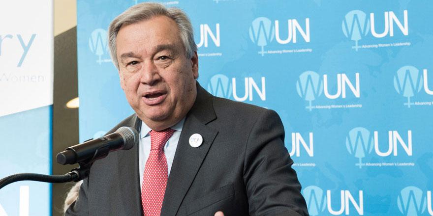 Guterres: 'İsrail ile Filistin geriliminden endişeliyiz'