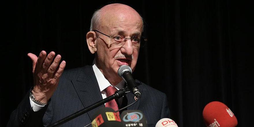 TBMM Başkanı Kahraman'dan Filistin maddesi talebi