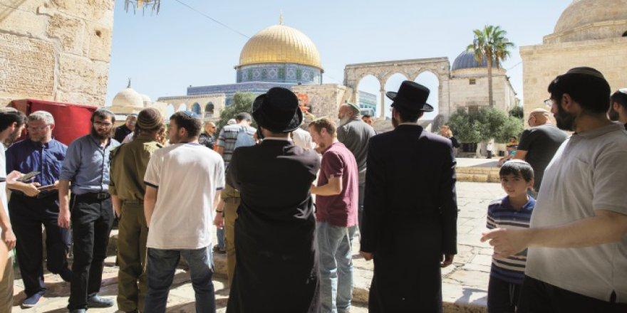 İşgalci İsrail Mescid-i Aksa için büyük tehlike aşamasına geçti