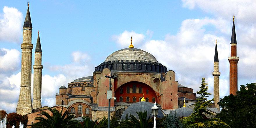 Bayramda en çok Ayasofya camii ziyaret edildi
