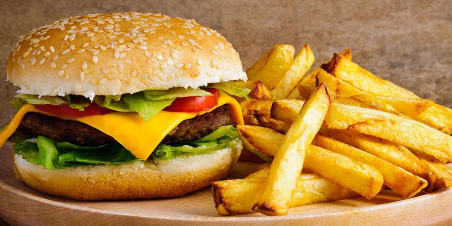Zamanım yok demeyin, fast food yemeyin!