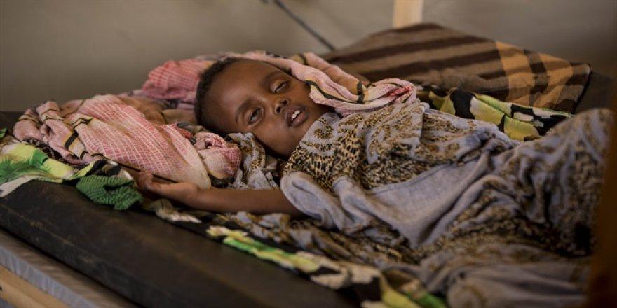 Kuraklık nedeniyle Somali'de milyonlarca kişi yardıma muhtaç