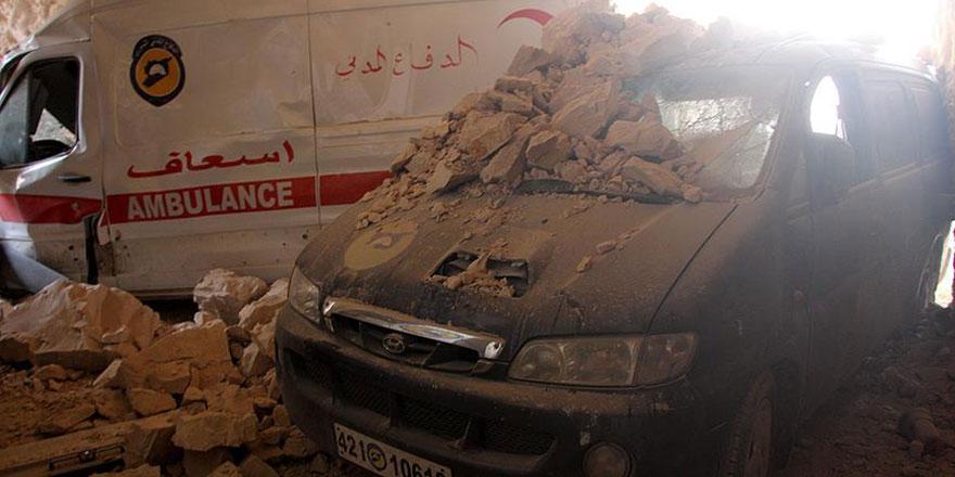 İdlib ve Hama'da hastaneleri vurdular: İnsanlığa karşı işlenen suç kapsamında