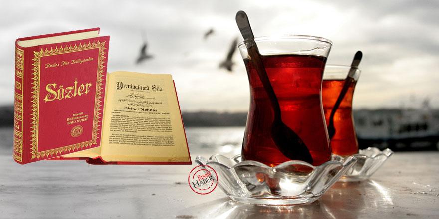 Kırmızı kitap okuyup kırmızı çay içenlere iyi haber