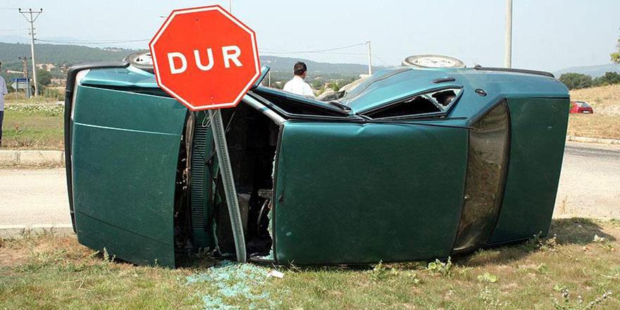 Trafik kazalarında en çok işlenen hata