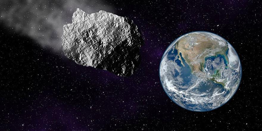 Kamyon büyüklüğündeki göktaşı Dünya'yı sıyırdı
